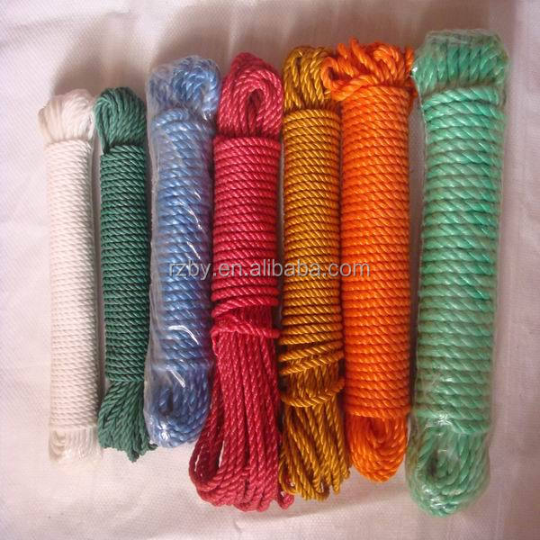 largest market share 3-4 strands 3-120mm diameter PE fishing Ropes