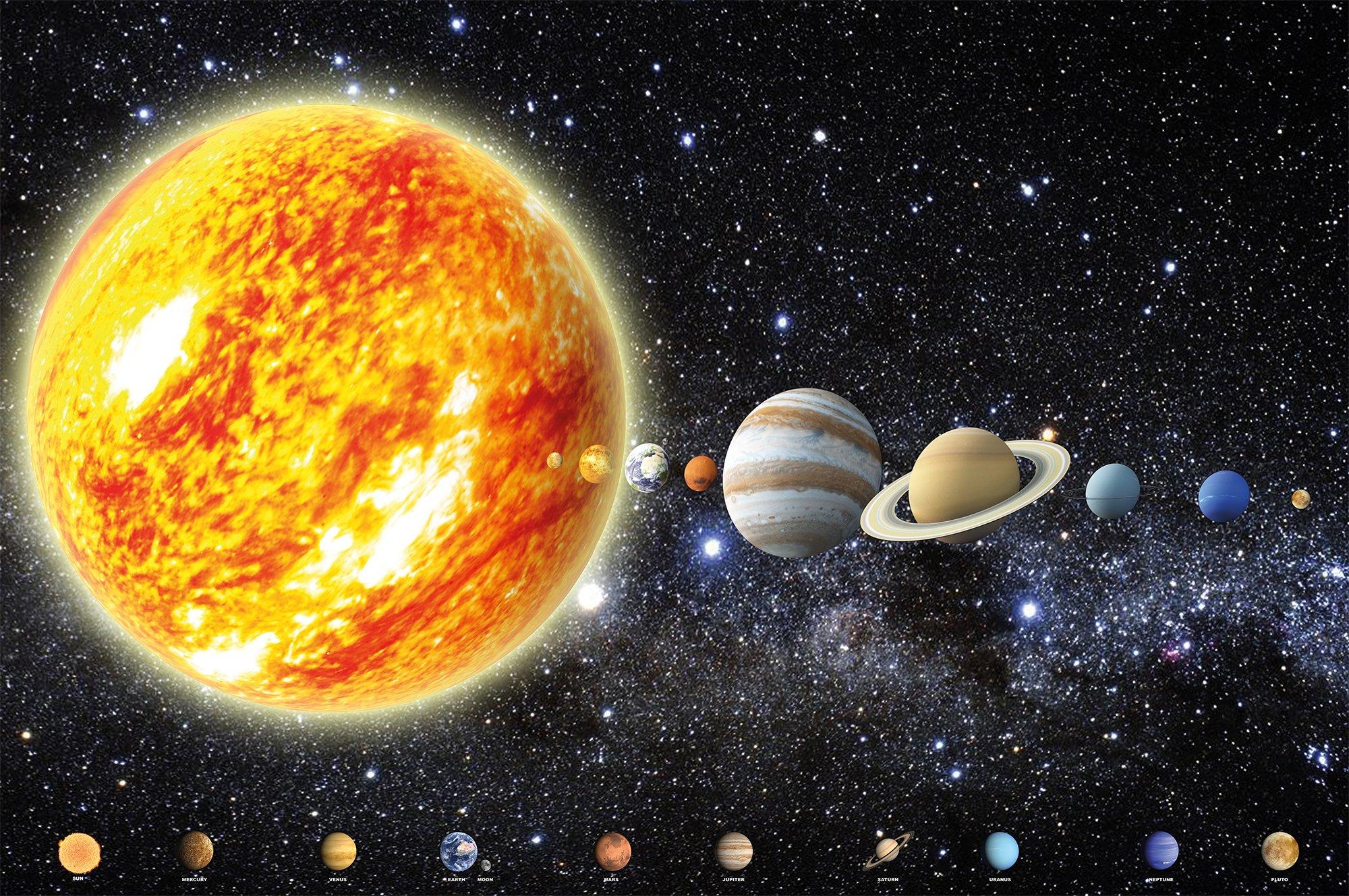 planets galaxy solar system star size - HD2000×1329
