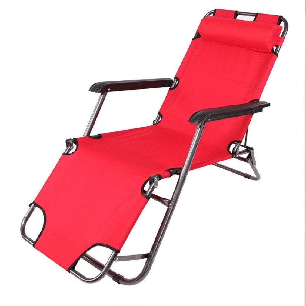 ZLJTYN Zero Gravity Folding Sun Lounger | Foldable Deck Chair Folding Chair, Recliner, Single Folding Bed, Folding Chair, Recliner, Office Nap Bed, Simple Lazy Lounge Chair, Beach Chair 182Cm