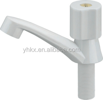 Deck Mount Single Hole Plastic Lavatory Basin Faucet
