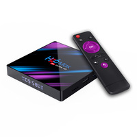 New Arrive H96 MAX Android 9.0 TV Box 4GB 64GB RK3318 2.4G/5G Wifi BT 4.0 4K HD Set Top Box Google Play YouTube Netflix H96max