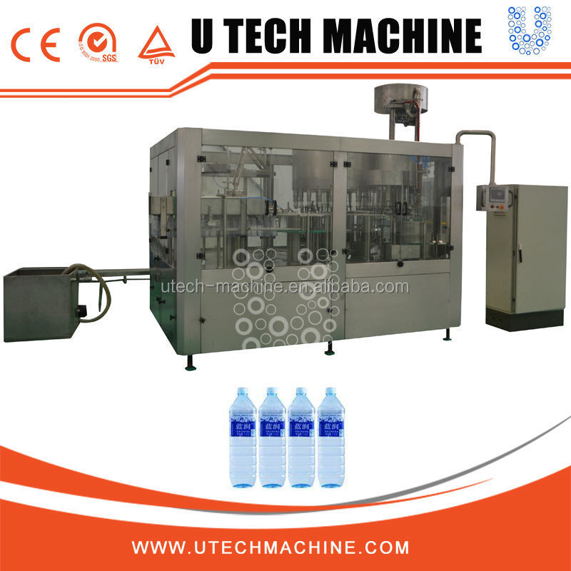 Easy Open Cap Plastic Bottling Plant