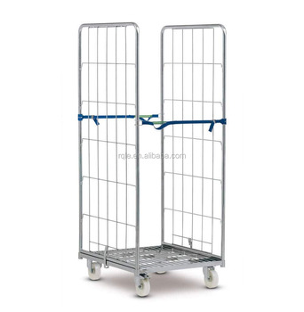 Collapsible Rolltainer Storage Roll Cage Trolley Cart Roll Cage