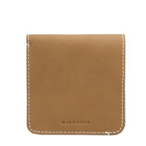 MINANDIO China Supplier Factory from Italy Creative personality good quality genuine leather wallet men