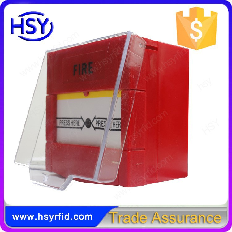 Break Glass Fire Red color automatically Resettable Emergency Exit Release with cover