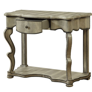 new elegant reproduction curio console table