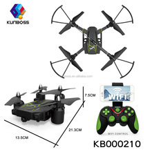 2.4GHz FPV RC Drone Foldable Drone with Wifi fpv 0.3MP or 2MP Camera Altitude Hold Quadcopter