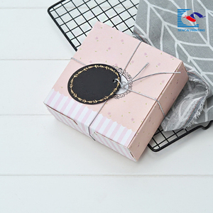 Chinese suppliers custom size moon cake packaging gift paper box wholesale