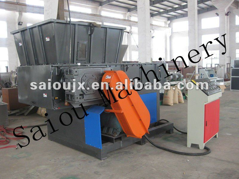 plastic recycle shredder machine of PP,PE,PET,PVC and PS,ABS