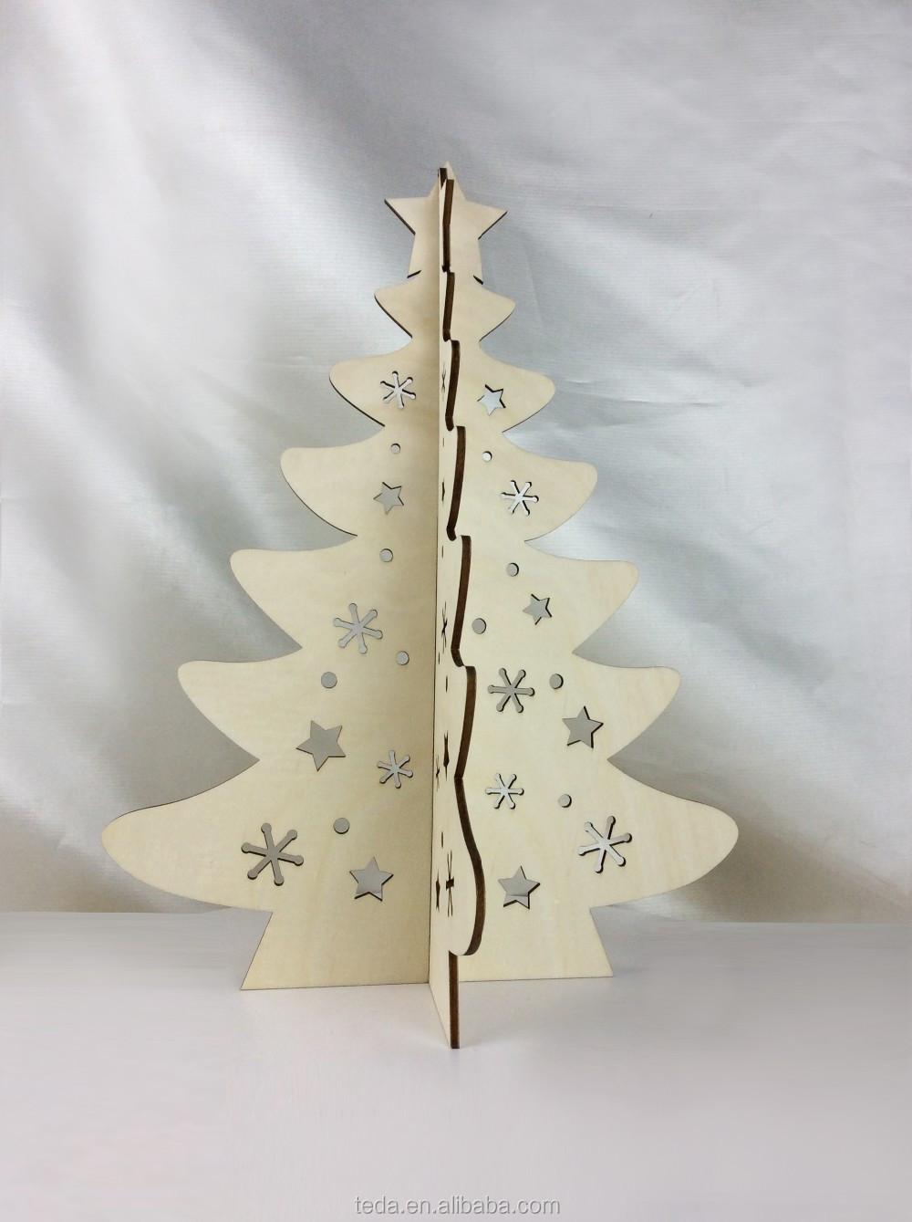 Wooden Christmas Tree Stand On Table Buy Wood Christmas Tree