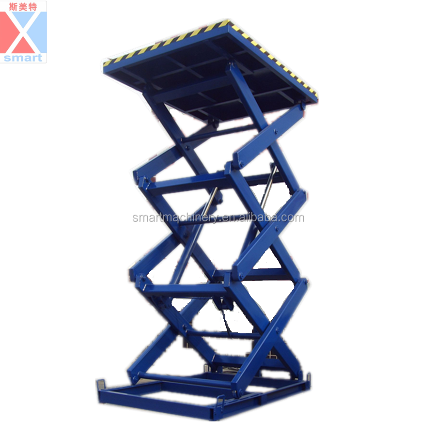 2.5TStationary hydraulic telescopic electric lift ladder