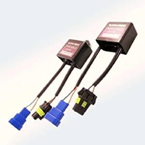 HID Capactior Anti Flicker light Warning Error Decoder Canceller Wiring Relay 9-16V