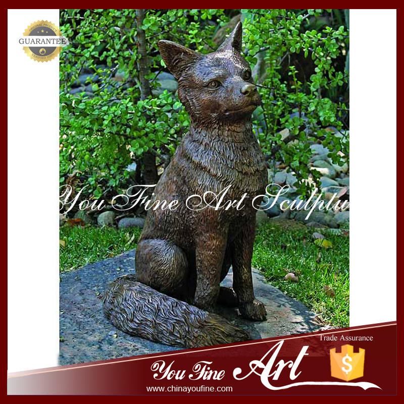 Life Size Fox Sculpture, Life Size Fox Sculpture Suppliers And  Manufacturers At Alibaba.com