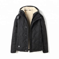 Best Sell Wholesale Classic Fur Lining Quilted Men Winter Jacke