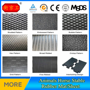 Low Price Free Sample Cow Stall rubber waterproof flooring Mat