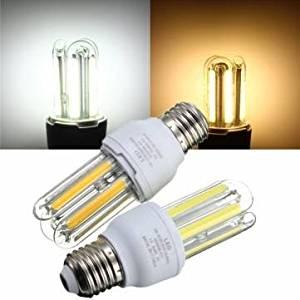 E27 5W COB Warm White /White Energy Saving Corn Light Bulb AC 85-265V