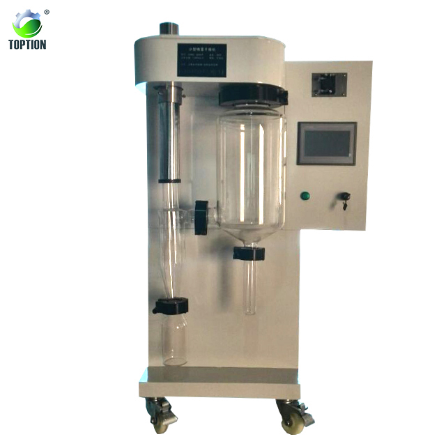 LCD touch display lab scale spray dryer for granule lab scale milk pilot spray dryer lab scale spray dryer machine