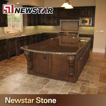 Charmant Tropic Brown Granite Silk Stone Countertops