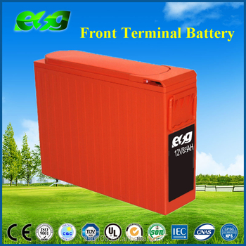 VRLA Long Life 12v 100ah 105ah 120ah Front Access UPS/EPS System Battery