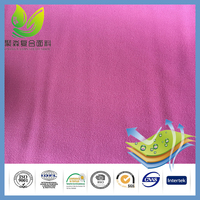 Alibaba China Market Pink Color High Tenacity Polyester Yarn Textiles Jersey Fabric for Mattress Covers
