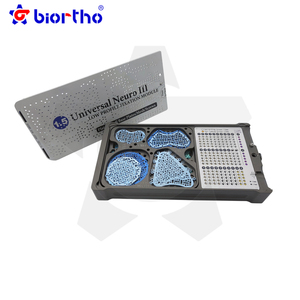 Maxillofacial Universal Neuro Low Profile Fixation Module Plate/Skull Base Plates/Mesh/Screws Orthopedic Implants instruments