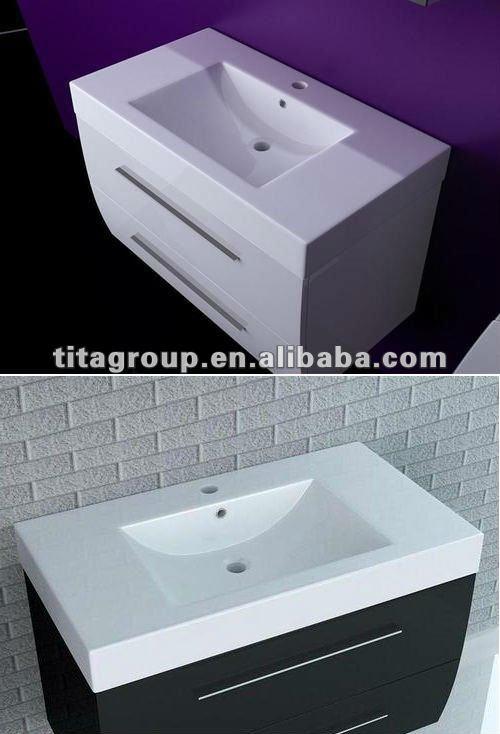 Germany Popular High Glossy Bathroom Furniture Led ...