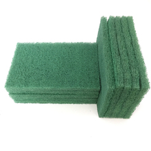 96# green scouring pad for Restaurant kitchen cleaning
