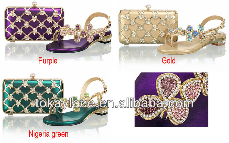 Bags Wholesale Italian Ladies And Parties Matching gold Shoes nOBY6dqww