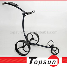 NEWEST Electric Power Carbon Golf Trolleys Folding Motors Carbon Golf Caddy With New Handle 36 Holes Battery