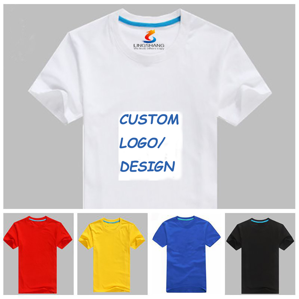 Customized Promotional T-shirt, design your own tshirts