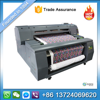 China Industrial Direct Inkjet Sublimation Textile Fabric Clothes Printing  Photo Machine Cheap Digital Textile Printer Price - Buy Textile