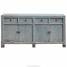 Chinese antique rustic furniture solid wood buffet cabinet furniture
