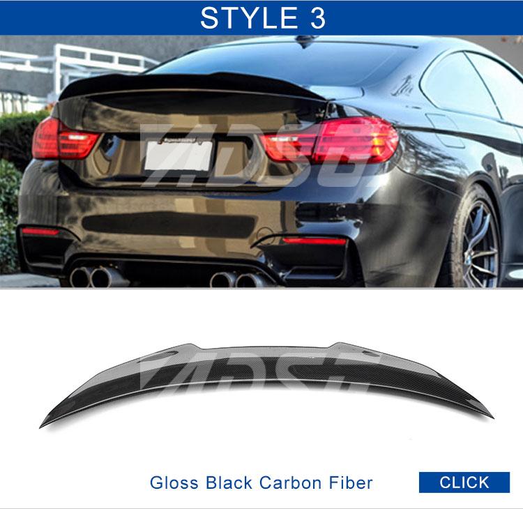 Carbon Fiber Spoiler For Auto Parts Bmw F82 Rear Lip