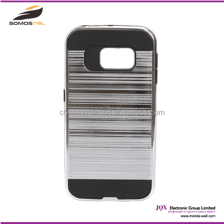 Hybrid armor phone case Aluminum Metal+PC case cover for samsung galaxy star pro s7262, bumper case for lenovo a6000
