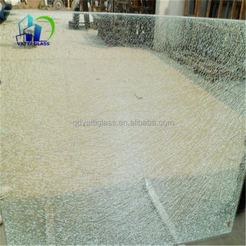 Grieta del hielo precio al por mayor de cristal templado - Precio del vidrio ...