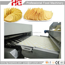 HG250 stable running easy cleaning food equipment for Pringles chips
