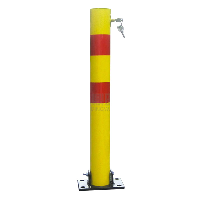 620*180*90Mm Car Parking Barriers Warning Poles Wheel Clamp Lock parking barrier