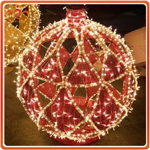 D:80cm Hollow Christmas decoration led lighted ball for outdoor events party