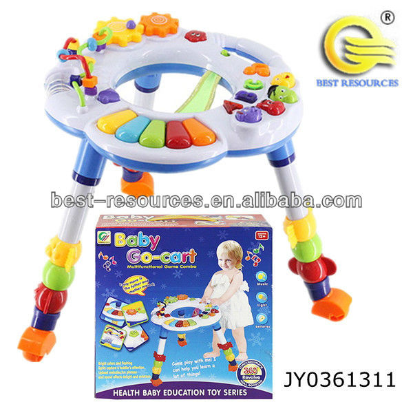 baby learning walker with music&light/wheels baby walkers