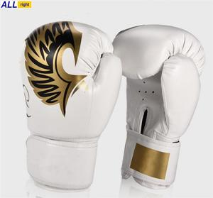 Factory Cheap Price Training Custom Made Design Synthetic Leather Kick Boxing Gloves