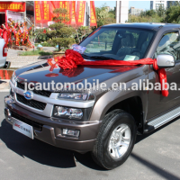 Top quality JAC 4WD Diesel type double cabin pick-up truck for sale with GOOD price