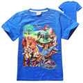 Boys T shirt Children Clothing 2016 fashion cartoon kids clothes boys tops tee summer style children