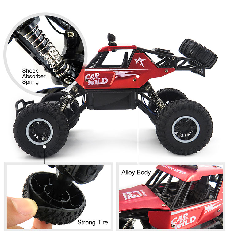 7. SL-109A_Red_Metal_Off-road_Climbing_RC_Car