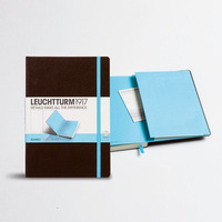 Custom made hardcover leather planner diary