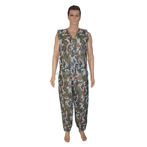 Hot Sale kids disposable polypropylene coveralls paintball camo coveralls