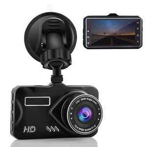 4K Dash Cam Full HD 1080P, 170 Degree Wide Angle Dashboard Camera Car Video Recorder with Night Vision, G-Sensor, WDR