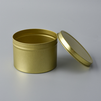 Wholesale luxury travel candle tins