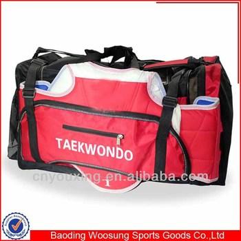 Tae Kwon Sparring Taekwondo Gear Big Equipment Bag Martial Arts OPTlkXwuZi