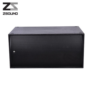 2018 High quality high power dual 18 inch pro subwoofer karaoke speaker box