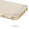 for iPhone 5s Diamond 24k Gold Plating Back Cover Housing